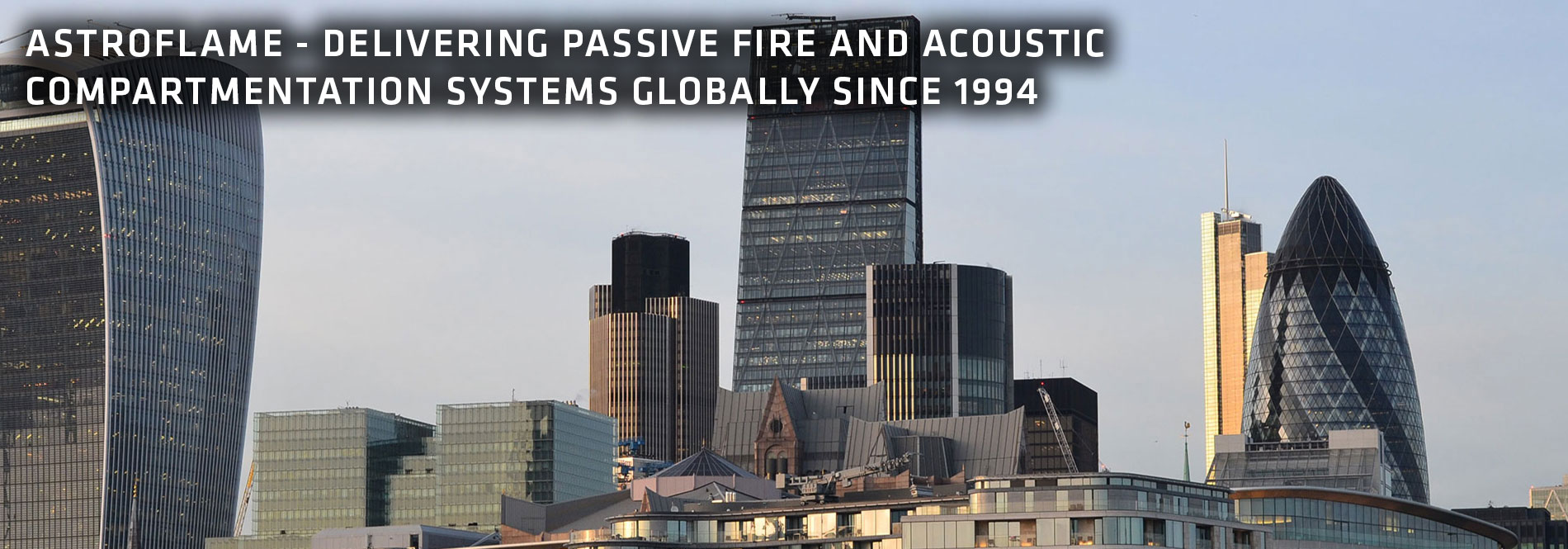Astroflame Delivering passive fire and acoustic compartmentation systems