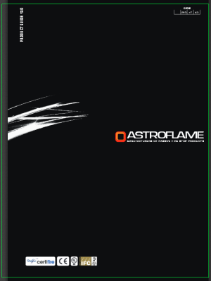 Astroflame Products - Catalogue 2015.