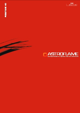 Astroflame Products 2013-14