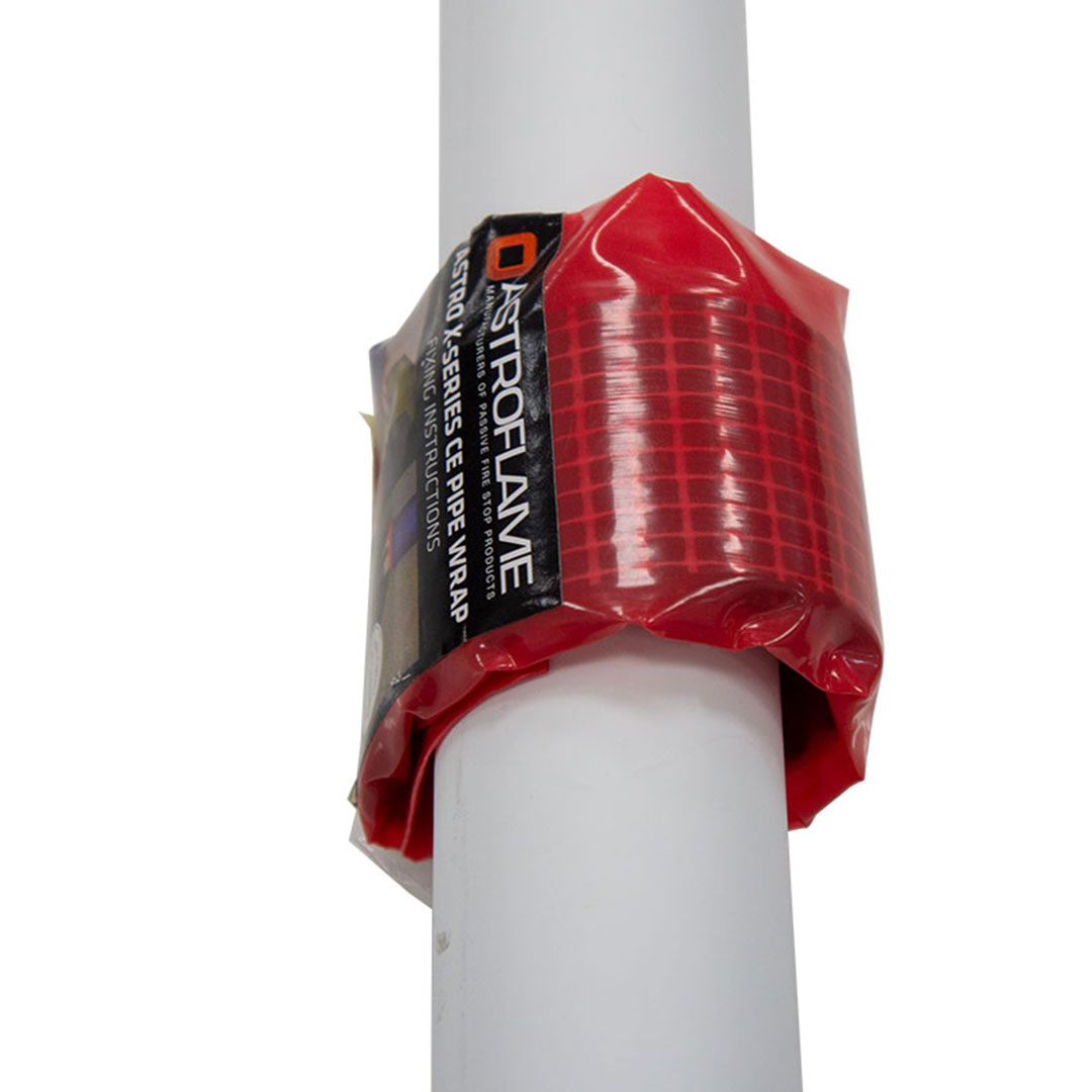 Astro X Series CE Pipe Wrap On A Soil Pipe