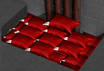 Fire Pillows at Astroflame - in various sizes