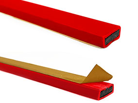 Astro strip FO - fire only seals - Red