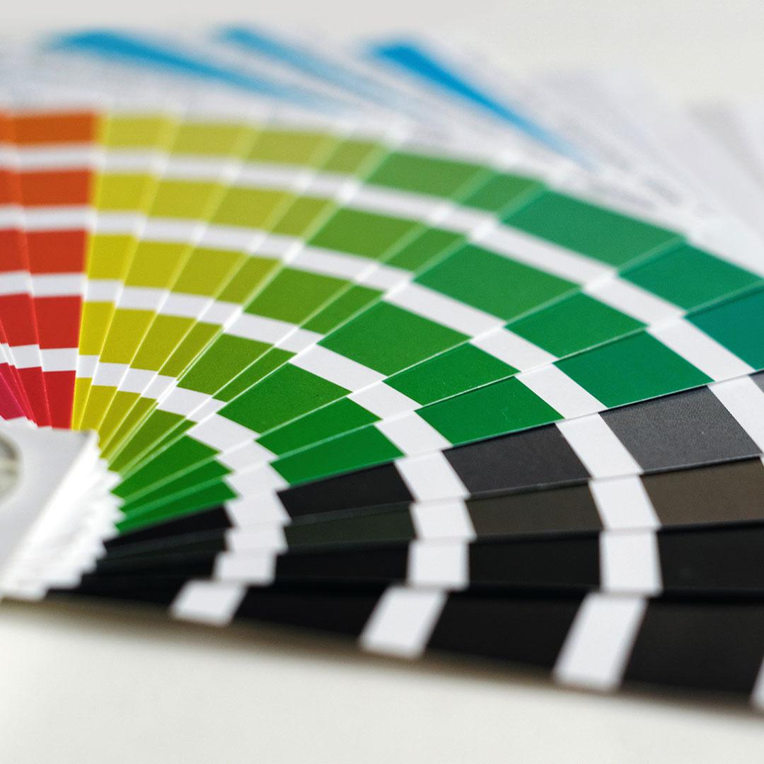 Flame Retardant Paint Colour Charts