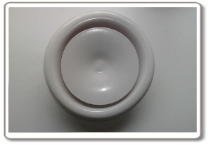 Ceiling air valve - inlet version