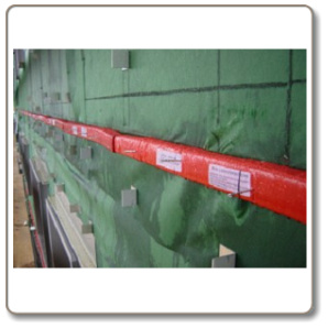 Tenmat Ventilated Fire Barrier.