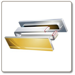 Intumescent letterbox - Fire/Smoke/Acoustic Rated