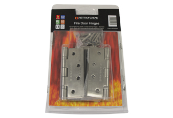 ironmongery fire rated hinges AFFDX0501 - Astroflame