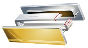 Telescopic letterbox system